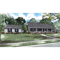 Sprawling Country House Plan