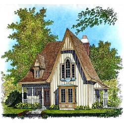 Charming Gothic Revival Cottage